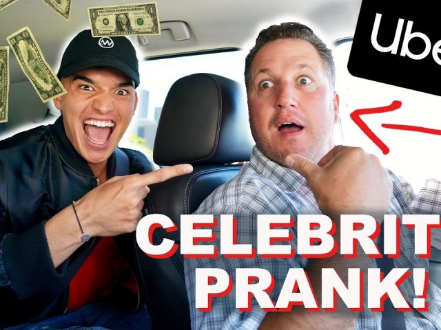 CELEBRITY PRANK ON UBER DRIVER! *ACTION-PACKED*