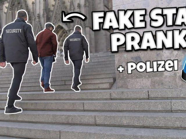 FAKE STAR PRANK! + Polizei