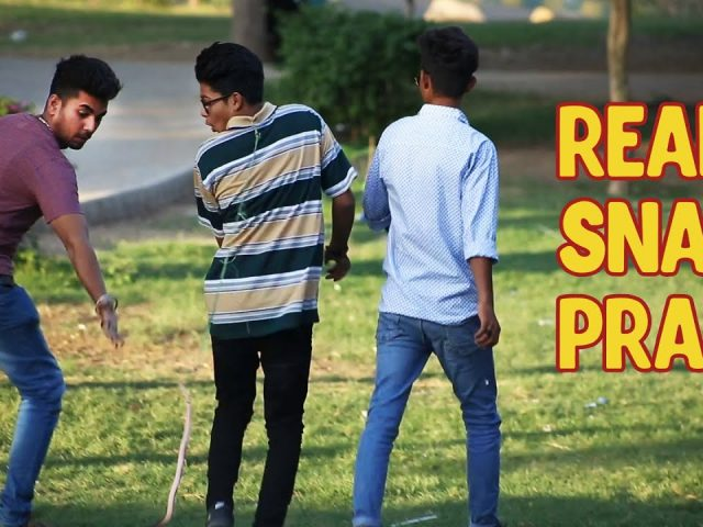 Funny Snake Prank 2018 | Dumb Pranks | Raheel Bhatti |