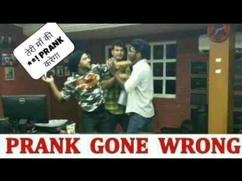 Prank Gone Wrong With Bollywood Actor Rajkumar Rao  Prank with Celebrity  YoutubeGuru 1