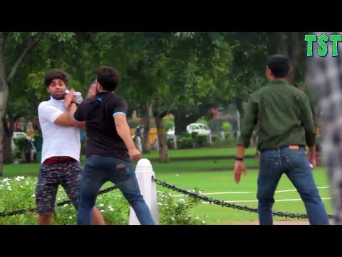 2017 ki best funny prank video tst Rahul and Prince amazing Prasad