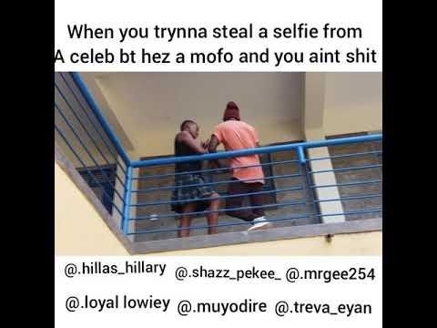 Celebrity selfie prank gone wrong