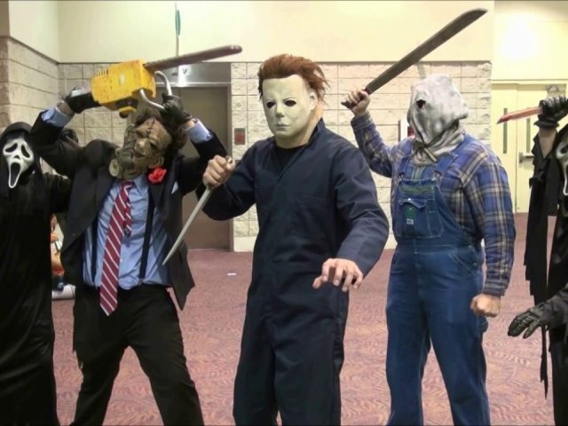 Scare Pranks by Jason Voorhees , Freddy Krueger , Ghostface , Scream , Leatherface and Michael Myers