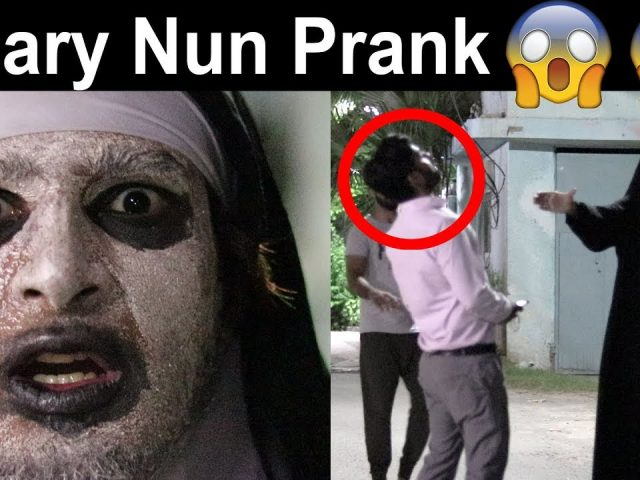 THE NUN Scary Prank  | OMG must watch
