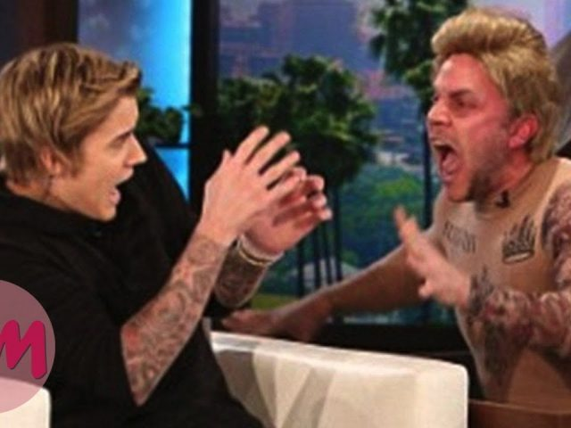 Top 10 Funniest Celebrity Jump Scares on Ellen