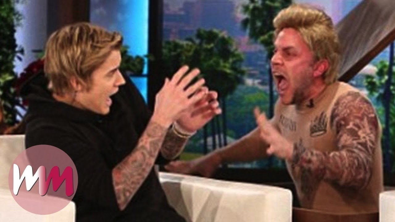 Top 10 Funniest Celebrity Jump Scares on Ellen 1