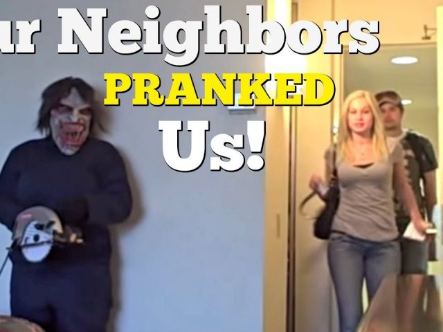 OUR NEIGHBORS PRANKED US! – Best Scare Pranks