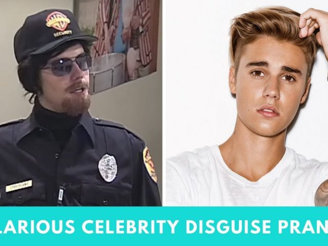 5 HILARIOUS Celebrity Disguise Pranks | Hollywire