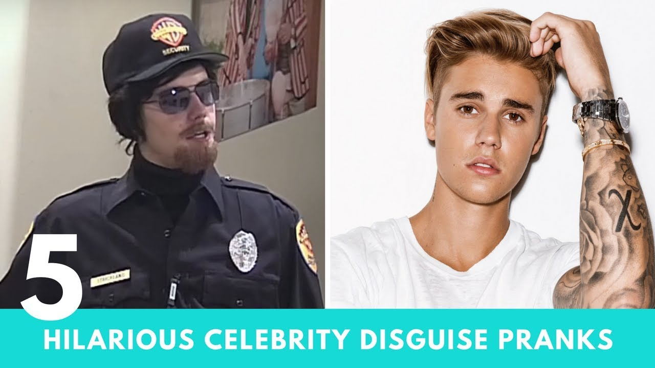 5 HILARIOUS Celebrity Disguise Pranks | Hollywire 1
