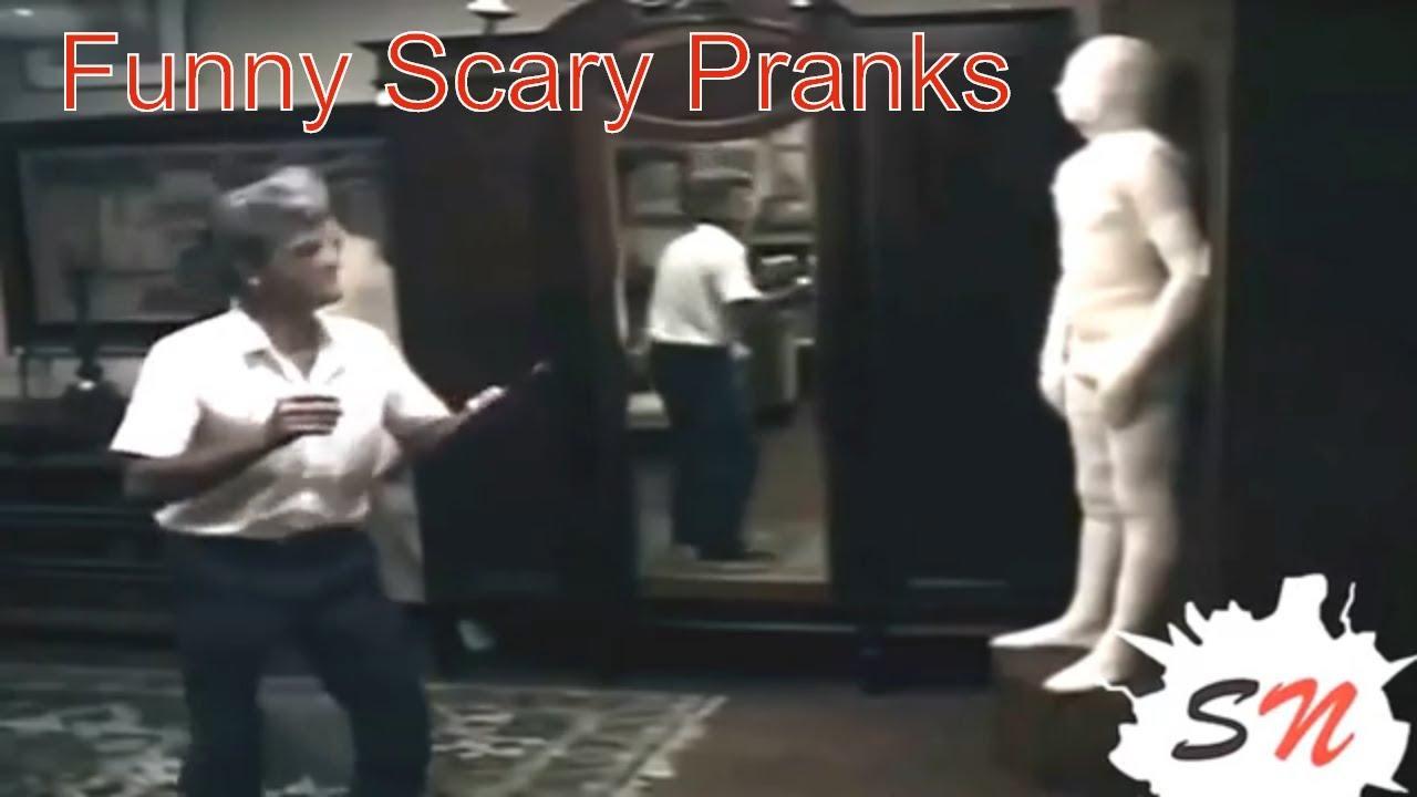 Best scary funny pranks | mummy pranks | Scary pranks compilation 1