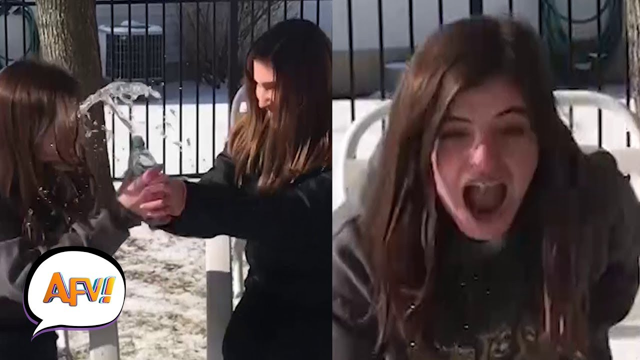 Best Winter Prank Videos | AFV Funniest Pranks December 2018 1