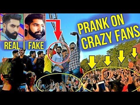 Fake Celebrity Prank   PARMISH VERMA   Without Security In College 1