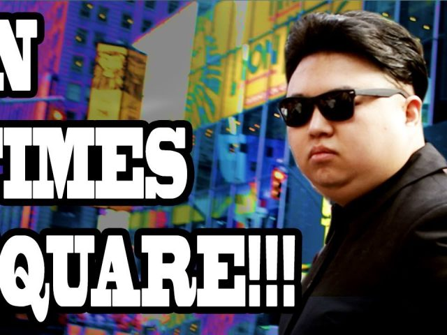 Fake Kim Jong Un Pranks New York City Times Square!! (10 Hours of Walking – Part 3)