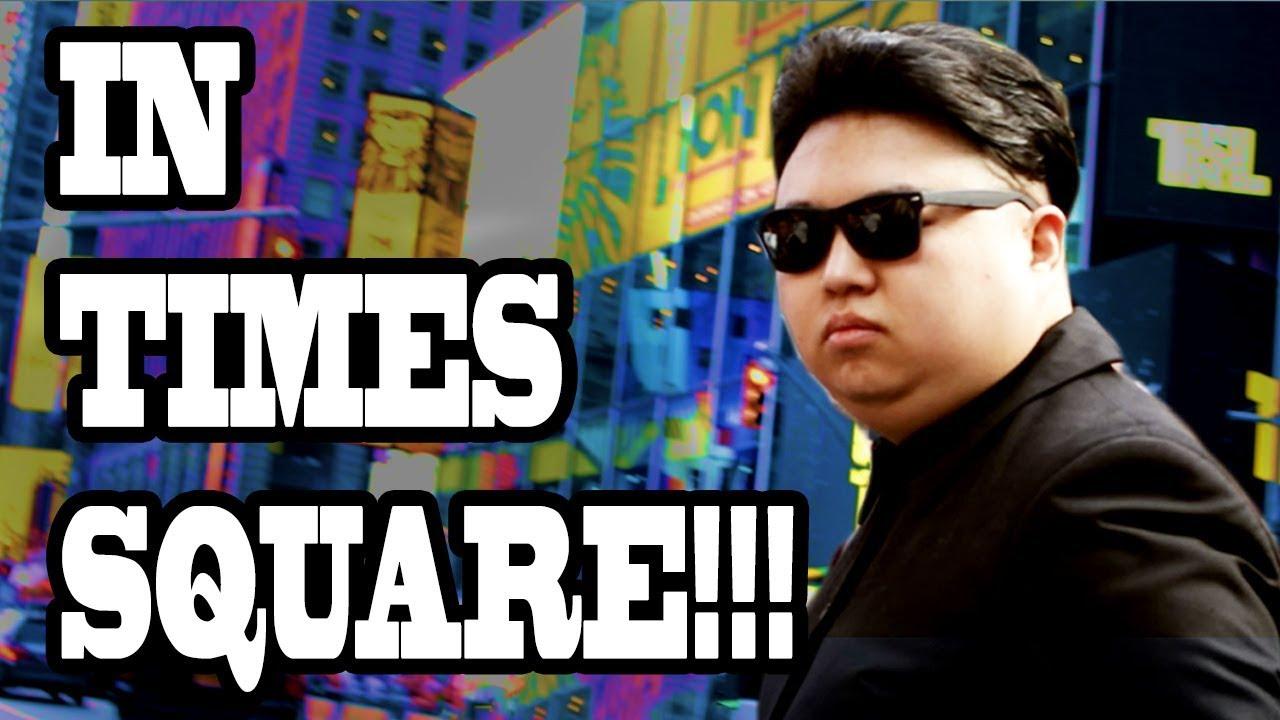 Fake Kim Jong Un Pranks New York City Times Square!! (10 Hours of Walking - Part 3) 1
