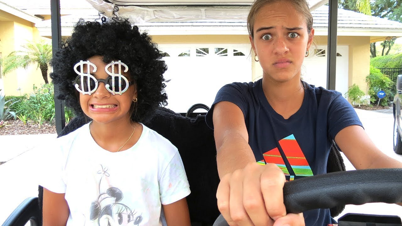 HIDE AND SEEK ! with Sisters Sophia and Sarah. New Funny Prank on Sophia! 1