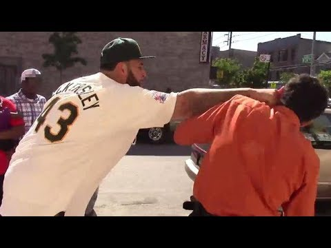 """Messing With Big Thugs"" – Funny Videos (Pranks In The Hood)"