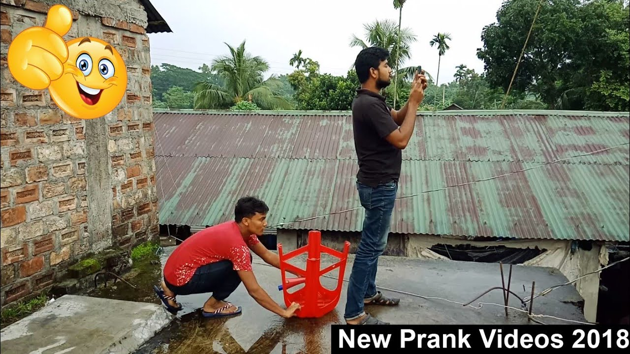 New funny Prank Videos_Funniest Videos 2018_Try Not To Laugh_Pagla BaBa 1