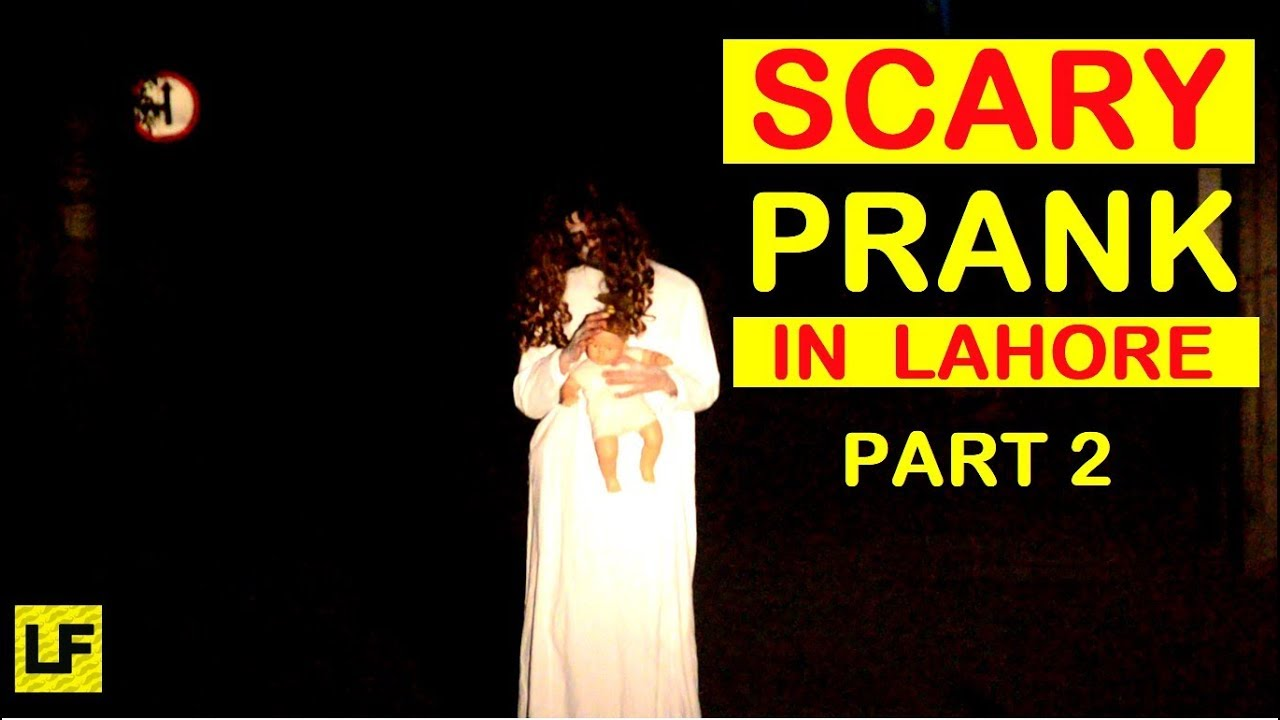 Scary Ghost Prank in Lahore Streets - MUST WATCH (Part 2) 1
