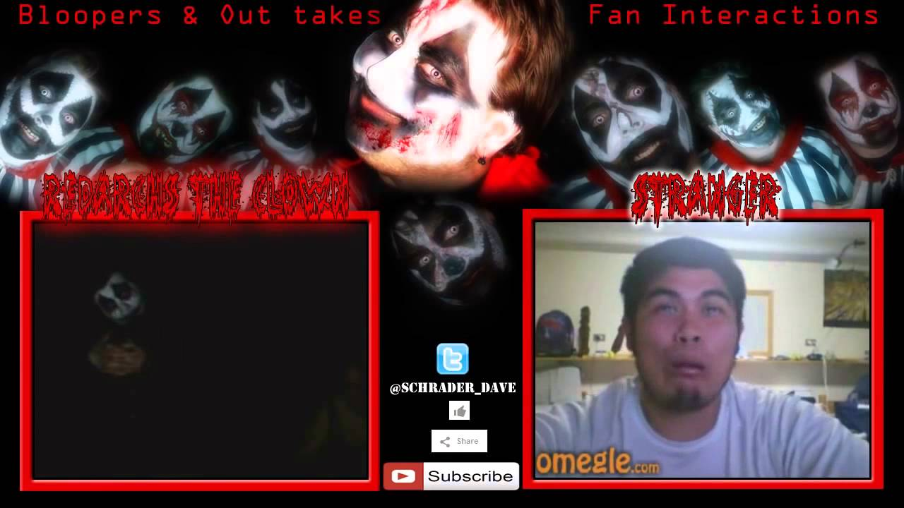 Scary Pranks 2014  Omegle Reactions Scary Redarchs! Scary Omegle Pranks 1