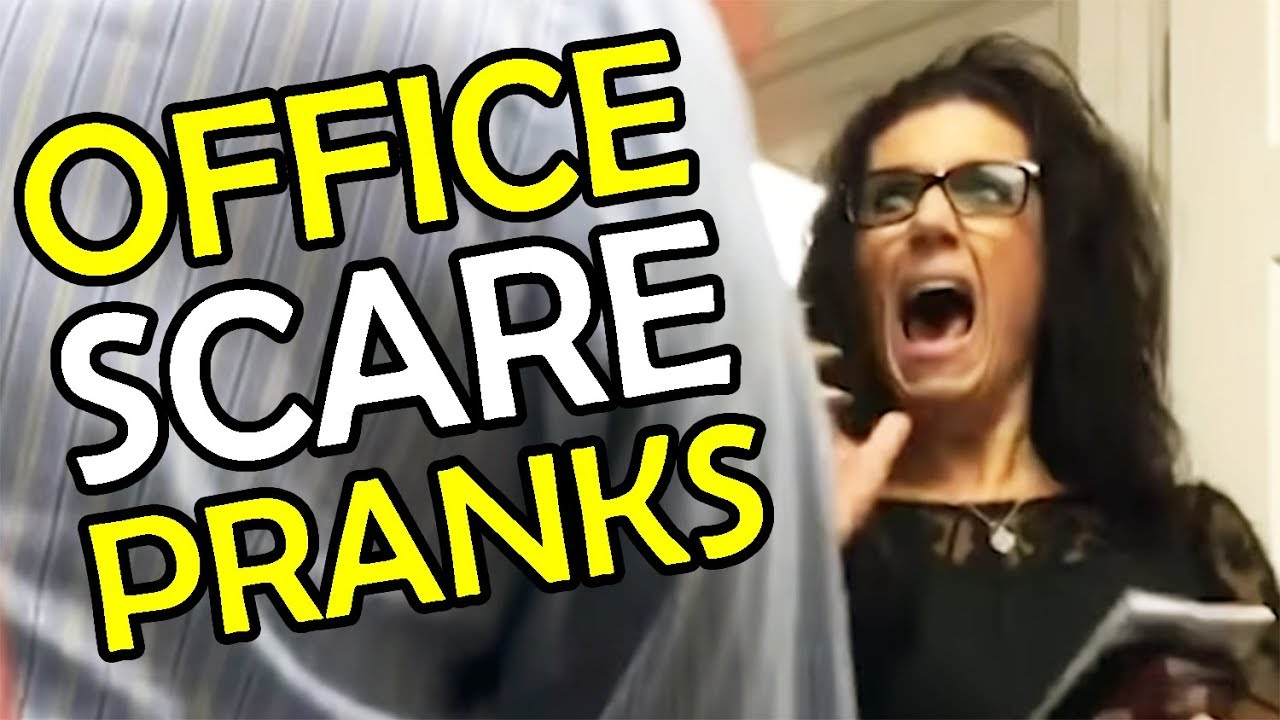Ultimate Office Scare Pranks | She Jumped on The Shelf | Funny Fail Compilation (January 2018) 1