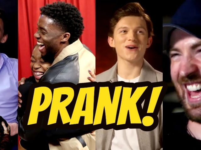 Avengers 4: End Game Cast Hilarious Pranks(Part-1) | Try Not To Laugh 2018