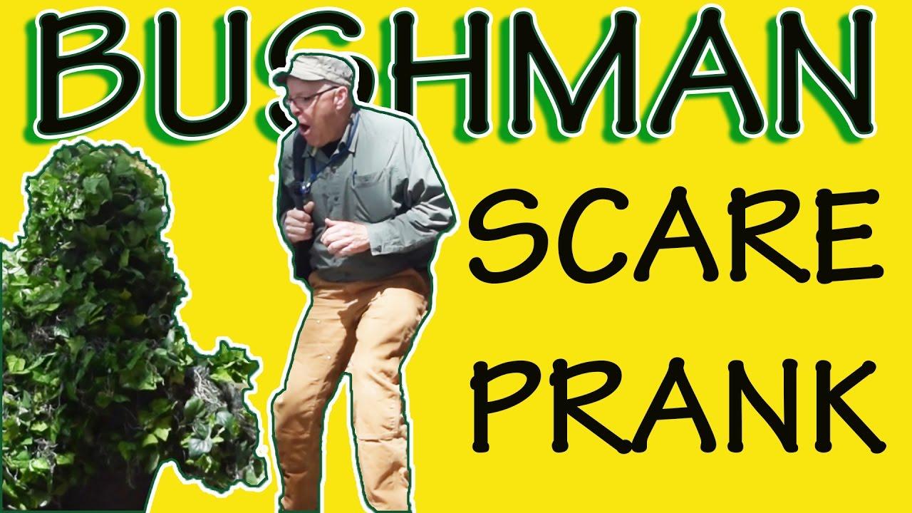 Bushman Scare Prank Funny Video 2017 - @TheRyanAward - @RRyanlewis - Las Vegas 1