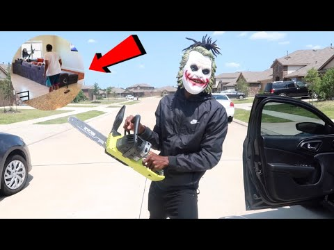 CHAINSAW MASSACRE PRANK!!! (GONE WRONG)