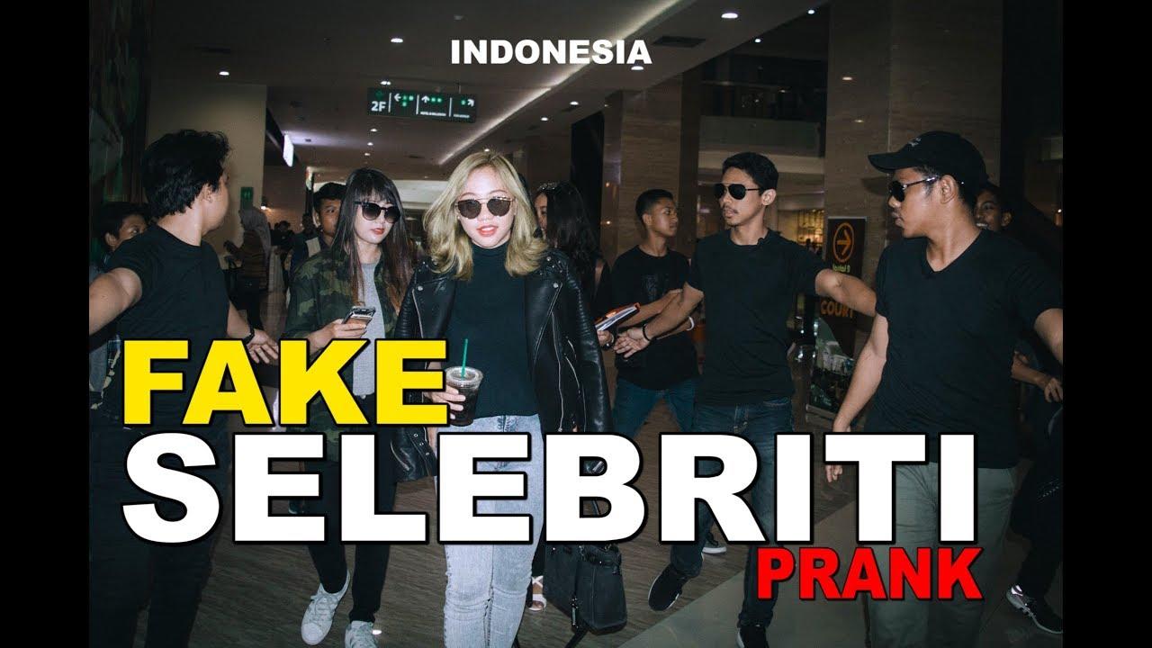 FAKE CELEBRITY KPOP INDONESIA  -PRANK 1