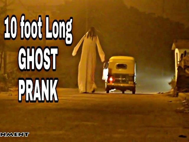 10 FEET  TALL Ghost scary prank (part5) | Gone Wrong | BY ANS Entertainment | (NEVER SEEN BEFORE