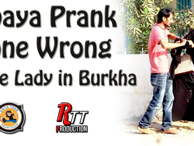 Abaya Prank Gone Wrong | Fake Lady in Burkha Prank By Shakeel Ahmed