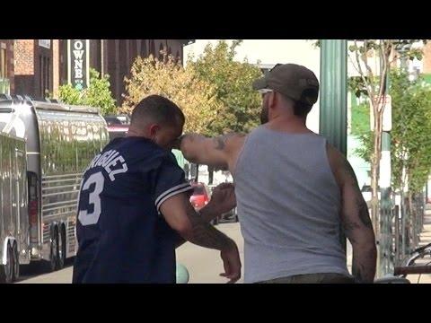 Boston vs. New York Jersey Prank (GONE WRONG) Social Experiment