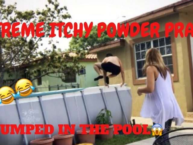 ITCHING POWDER PRANK ON BOYFRIEND GONE WRONG !!!