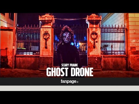 Philomena'' the ghost drone who terrorizes the young couples [SCARY PRANK]