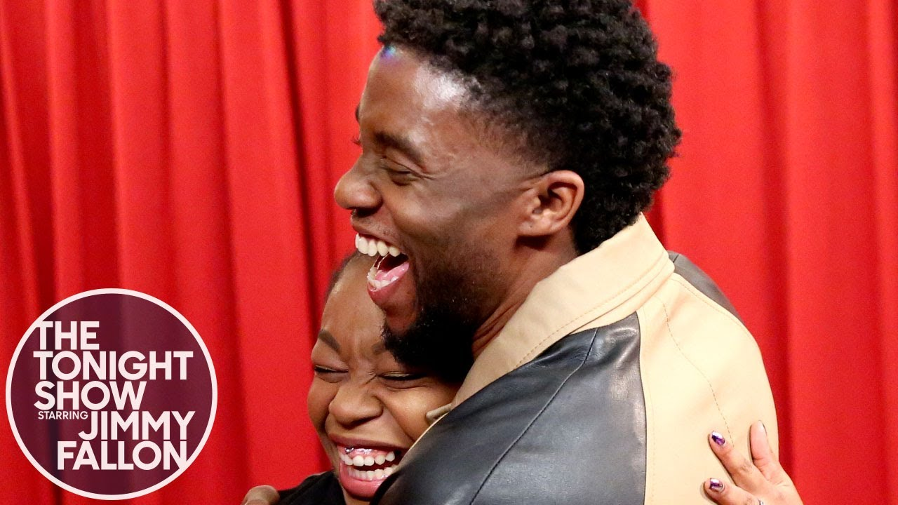 Chadwick Boseman Surprises Black Panther Fans While They Thank Him 1