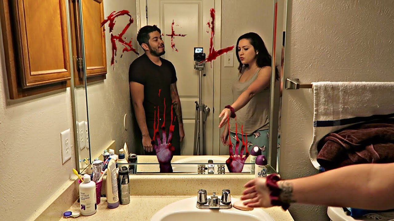 BLOODY MARY PRANK ON GIRLFRIEND!!! (GONE WRONG) 1