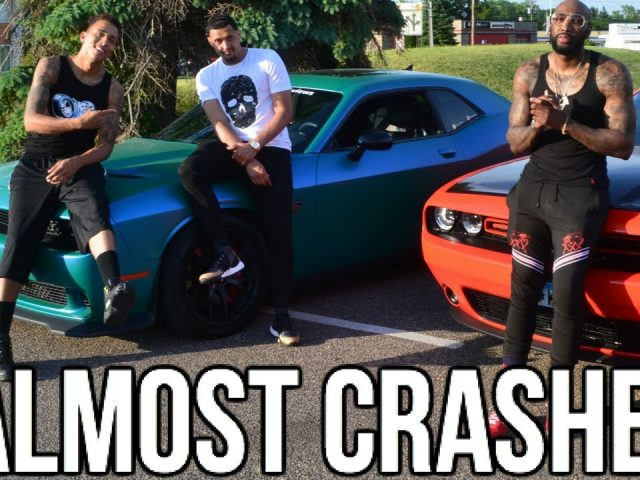 I Almost Crashed My Hellcat !! Prank Gone Wrong!!