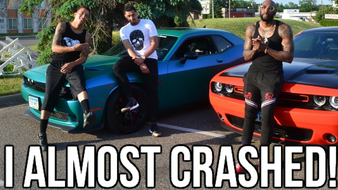 I Almost Crashed My Hellcat !! Prank Gone Wrong!! 1