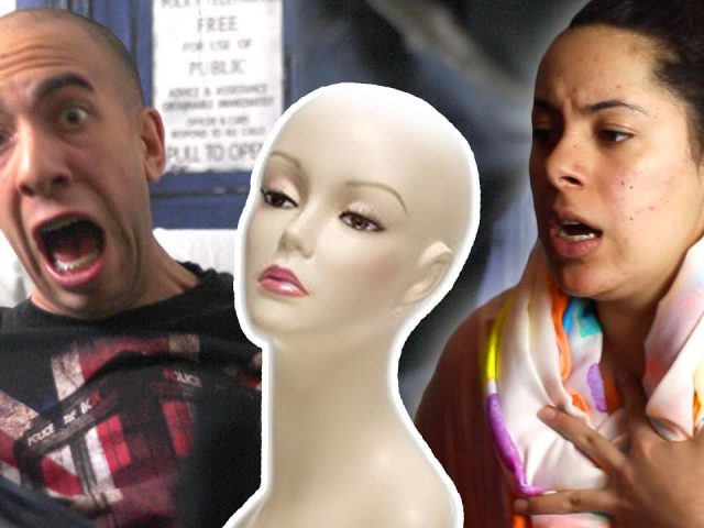 Scary Mannequin Prank!!