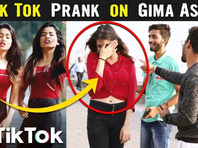 TIK TOK CELEBRITY PRANK Part 2 | Ft. Gima Ashi & Sagar Goswami | Funny Reaction | YoutubeWale Pranks