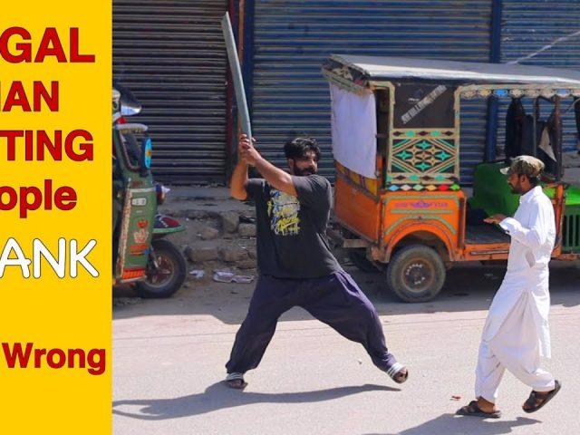 Angry Mad Man Prank | Pranks In Pakistan 2019