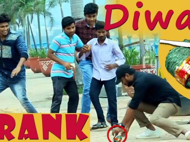 Best Diwali Prank of 2017 in Hyderabad | Pranks In India | FunPataka