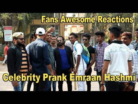 Celebrity Prank | Emraan Hashmi |  Fans Awesome Reactions By Shubham Sharma 1