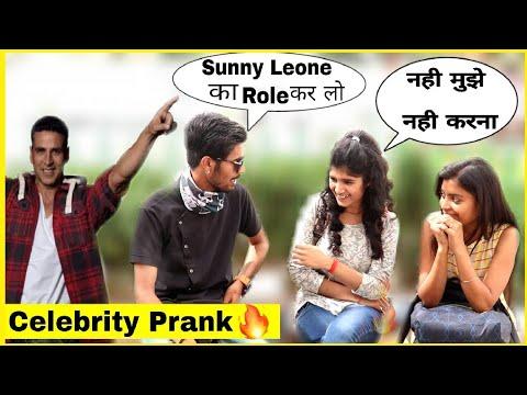 Celebrity Prank With twist ||Prank In India Prank|| Bharti Prank