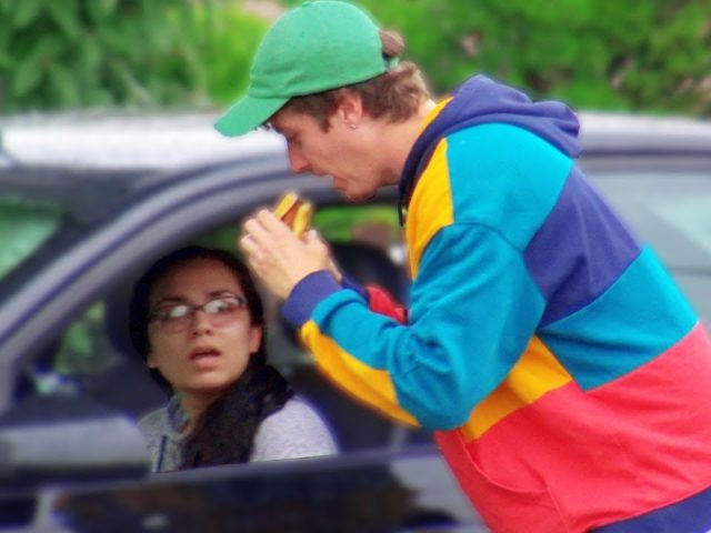 Eating Peoples Fast Food Prank