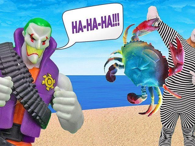 Funny prank videos: Superhero Batman vs Joker