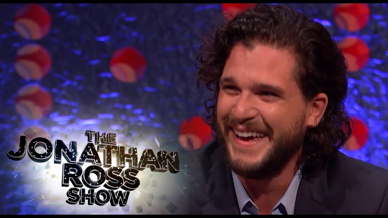 Kit Harington's Epic April Fools Day Prank On Rose Leslie - The Jonathan Ross Show 1