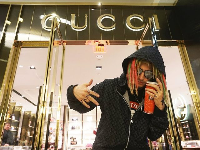 I Dressed Up as Lil Pump and People Thought I was Him! (WENT TO THE GUCCI STORE)