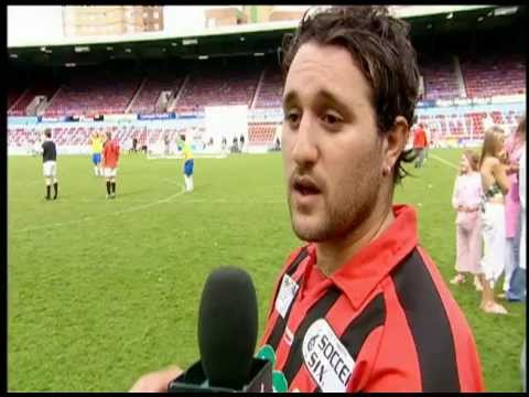 Prank TV with Miss Lee – Charity Celeb Football – Balls Of Steel