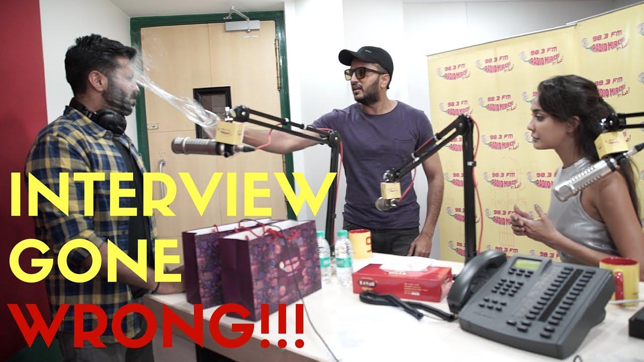 Riteish Deshmukh Pranks Lisa Haydon | RJ Arpit | Radio Mirchi 1