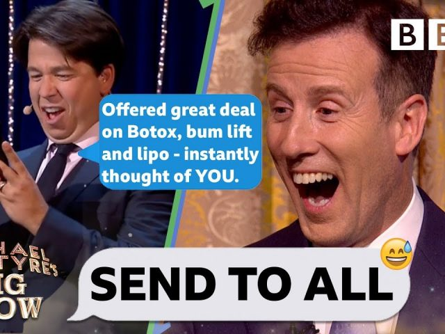 Strictly's Anton AGHAST as Michael McIntyre PRANK body shames his contacts💃😝 – Send To All